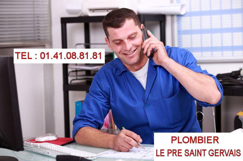 plombier Le Pré Saint Gervais
