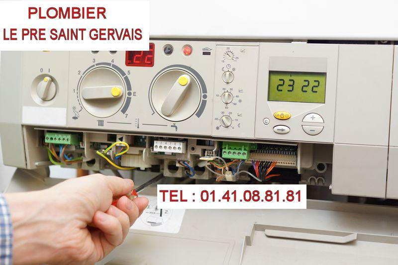 réparation chauffe-eau Le Pré Saint Gervais