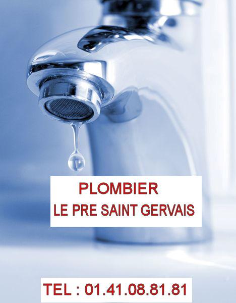 fuite d eau Le Pré Saint Gervais
